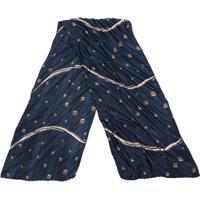 Giorgio Armani Lenço De Seda Com Listras Diagonais - Azul