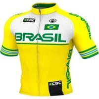 Camisa Ciclismo Mtb Ert Elite Brasil Slim Fit - Masculino