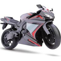 Moto Rodas Livres - Roma Racing Motorcycle - Cinza - Roma Jensen