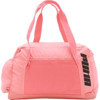 316822cc2 Netshoes; Bolsa Puma At Grip Bag Rosa