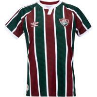 Camisa Do Fluminense I 2020 Umbro - Feminina - Vinho/Branco