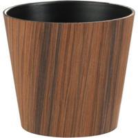 Cachepot Udecor Stripe Marrom