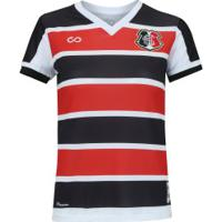 Camisa Do Santa Cruz I 2018 N° 19 Cobra Coral - Feminina - Vermelho/Preto