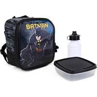 Lancheira Xeryus Batman Dark Light - Masculino-Preto