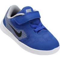 Tênis Infantil Nike Revolution 3 - Feminino-Azul Royal+Preto