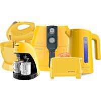 Kit Colors Perfect Fryer Amarelo Cadence 220V