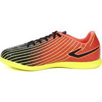Tênis Futsal Topper Ultra Indoor Preto Amarelo ed59ffc3320dd