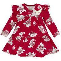 Vestido Bebê Menina Milon Vermelho