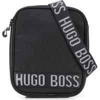 Boss Kids Bolsa Transversal Com Logo - Preto
