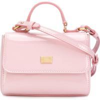 Dolce & Gabbana Kids Bolsa Tiracolo - Pink