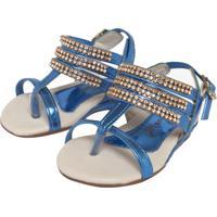 Sandália Infantil Marisol Casual E Tan Azul