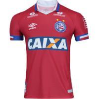 Camisa Do Bahia Iii 2017 Nº 10 Umbro - Masculina - Vermelho Azul c652f070198