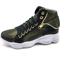 Tênis Sneaker Bmbrasil 250-04 Verde