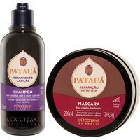 L'Occitane Duo Shampoo Tratamento Capilar E Máscara Reparação Nutritiva Patauá