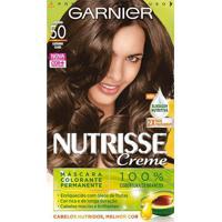 Tintura Garnier Nutrisse 50 Amêndoa Castanho Claro