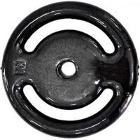 Anilha De Peso Revestida Para Barra De Musculação De 10Kg - Unissex