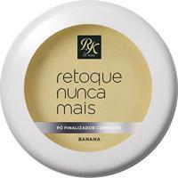 Pó Finalizador Compacto Rk By Kiss Retoque Nunca Mais Banana - Feminino-Incolor