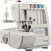 Máquina De Costura Elgin Overlock 1000 105W Branco 220V