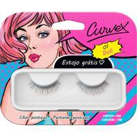 Cílios Postiços - Curvex - Linha Doll - 01 - Preto