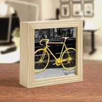 Moldura Art Box - Yellow Bike