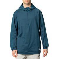 Casaco Asics Thermopolis Fleece 1/2 Zip - Masculino - Azul
