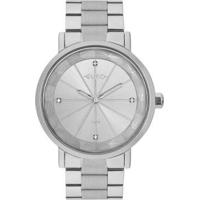 Relógio Feminino Euro Eu2035Yrx/3K 40Mm Aço Prata - Feminino-Prata