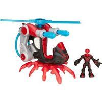 Home Aranha Com Helicóptero Playskool Hasbro