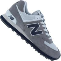 81741199c7 Tênis New Balance Ml574 - Masculino - Cinza Azul