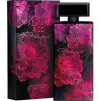 Perfume Always Red Femme Feminino Elizabeth Arden Edt - Feminino-Incolor