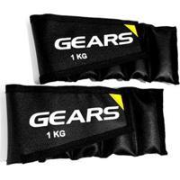 Par Caneleira Ajustável 1 Kg Gears - Unissex