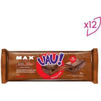 Barra Proteica Uau! Protein Bar- Brigadeiro- 12 Unidprobiotica