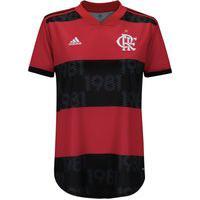 Camisa Do Flamengo I 2021 Adidas - Feminina