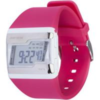 Relógio Digital Troca Pulseiras Mormaii Fz - Feminino - Preto/Rosa
