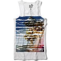 Camiseta Regata Long Beach Long Beach California Sublimada Masculina - Masculino