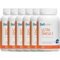 Combo Desconto 6 Unidades Ômega 3 Belt Nutrition - Unissex