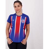 Camisa Bahia Tricolor Torcida Feminina - Feminino