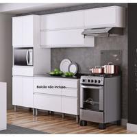 Cozinha Compacta 3 Peças Sem Balcão Belíssima Plus Itatiaia Branco