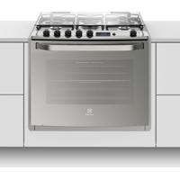 Fogão De Embutir Silver Grill 5Q Elétrico Electrolux Bivolt