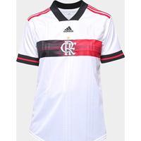 Camisa Flamengo Ii 20/21 S/Nº Torcedor Adidas Feminina - Feminino