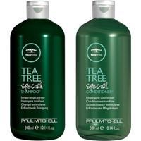 Kit Shampoo + Condicionador Paul Mitchell Tea Tree Special Kit - Unissex-Incolor