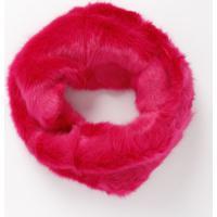 Echarpe Em Pelúcia Com Torção- Rosa- 102X21Cm- Ccotton Colors Extra