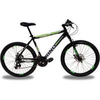 Bicicleta Aro 26 Rino 21 Velocidades Freio A Disco - Unissex