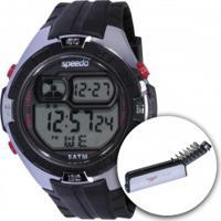 Relógio Digital Speedo 81097G0 Com Kit De Ferramentas - Masculino - Preto/Cinza