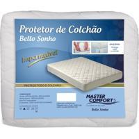 Cama Casal - Protetor Antialérgico Impermeável Para Colchão Casal