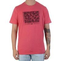 Camiseta Wg Silk Draw Masculina - Masculino-Vermelho