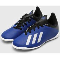 Chuteira Adidas Performance Menino X 19 4 In Jr Azul