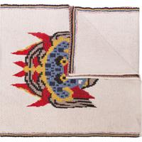 Kirin Cachecol Hateae Jacquard De Lã - Branco