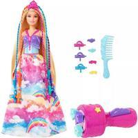Boneca Barbie Dreamtopia Princesa Tranças Mágicas
