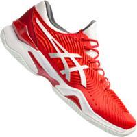 Tênis Asics Court Ff 2 - Masculino - Vermelho/Branco