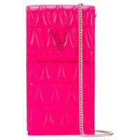 Versace Porta-Celular Matelassê Virtus - Rosa